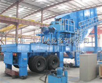 移動篩分站設備專業處理建筑垃圾設備