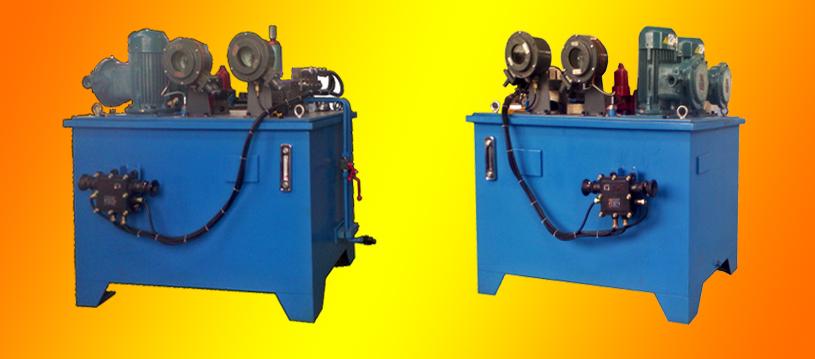 矿用提升绞车双回路双系统液压站图片