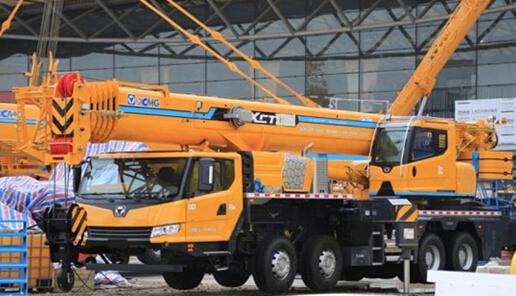 55吨汽车起重机xct55